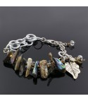 Pulsera Bosque Natural Nacar