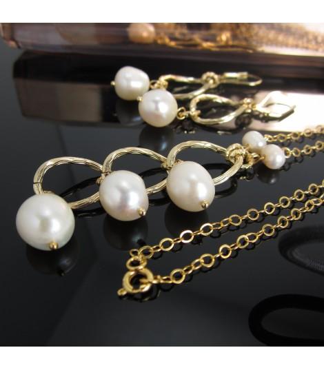 Collar Cascada de Perlas